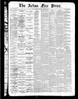 Acton Free Press (Acton, ON), December 8, 1887