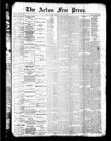 Acton Free Press (Acton, ON)19 Jan 1888