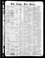 Acton Free Press (Acton, ON)2 Feb 1888