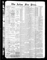 Acton Free Press (Acton, ON)23 Feb 1888