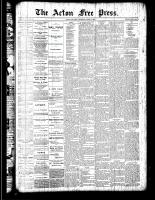 Acton Free Press (Acton, ON)5 Apr 1888