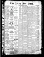 Acton Free Press (Acton, ON)19 Apr 1888