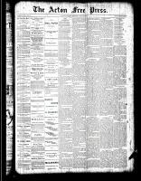 Acton Free Press (Acton, ON)10 May 1888