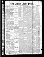 Acton Free Press (Acton, ON)12 Jul 1888