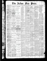 Acton Free Press (Acton, ON), August 16, 1888