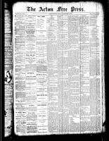 Acton Free Press (Acton, ON), September 6, 1888