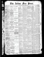 Acton Free Press (Acton, ON), October 18, 1888