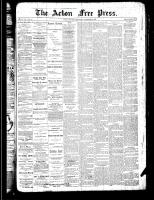 Acton Free Press (Acton, ON), December 27, 1888