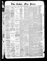 Acton Free Press (Acton, ON)3 Jan 1889