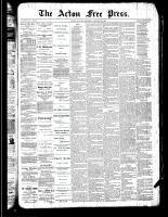 Acton Free Press (Acton, ON)24 Jan 1889