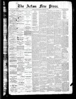 Acton Free Press (Acton, ON)7 Feb 1889