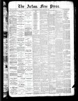 Acton Free Press (Acton, ON)28 Feb 1889