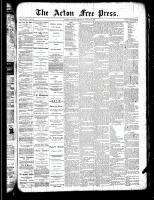 Acton Free Press (Acton, ON)28 Mar 1889