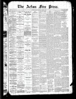 Acton Free Press (Acton, ON)4 Apr 1889