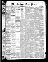 Acton Free Press (Acton, ON)23 May 1889