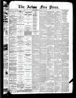 Acton Free Press (Acton, ON)6 Jun 1889