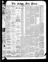 Acton Free Press (Acton, ON)4 Jul 1889