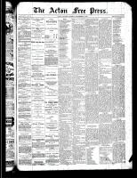 Acton Free Press (Acton, ON)19 Sep 1889