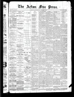 Acton Free Press (Acton, ON), December 5, 1889