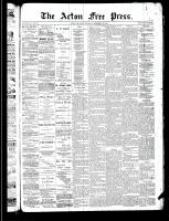 Acton Free Press (Acton, ON)12 Dec 1889