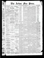 Acton Free Press (Acton, ON), December 26, 1889