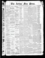 Acton Free Press (Acton, ON)2 Jan 1890