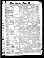 Acton Free Press (Acton, ON)23 Jan 1890