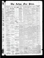 Acton Free Press (Acton, ON)13 Feb 1890