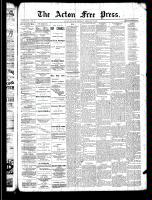 Acton Free Press (Acton, ON)27 Feb 1890