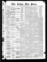 Acton Free Press (Acton, ON)13 Mar 1890
