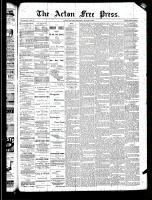 Acton Free Press (Acton, ON)20 Mar 1890