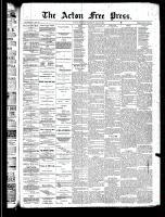 Acton Free Press (Acton, ON)29 May 1890