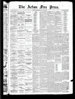 Acton Free Press (Acton, ON)5 Jun 1890