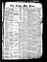 Acton Free Press (Acton, ON)10 Jul 1890