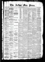 Acton Free Press (Acton, ON)17 Jul 1890