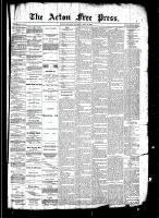 Acton Free Press (Acton, ON)31 Jul 1890