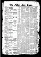 Acton Free Press (Acton, ON), August 14, 1890