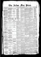 Acton Free Press (Acton, ON)28 Aug 1890