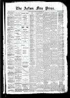 Acton Free Press (Acton, ON), September 4, 1890