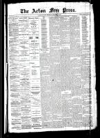 Acton Free Press (Acton, ON)11 Sep 1890