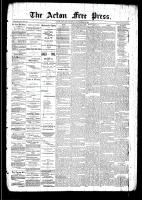Acton Free Press (Acton, ON)18 Sep 1890