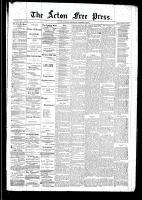 Acton Free Press (Acton, ON), October 16, 1890