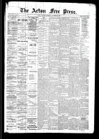 Acton Free Press (Acton, ON)13 Nov 1890