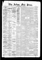 Acton Free Press (Acton, ON), November 27, 1890