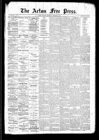 Acton Free Press (Acton, ON)11 Dec 1890