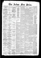 Acton Free Press (Acton, ON)25 Dec 1890