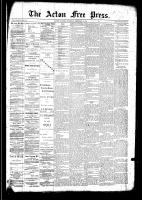 Acton Free Press (Acton, ON)19 Feb 1891