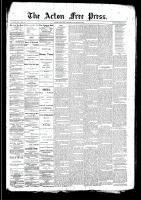 Acton Free Press (Acton, ON)26 Mar 1891