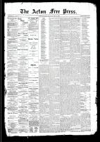 Acton Free Press (Acton, ON)16 Apr 1891