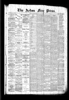 Acton Free Press (Acton, ON)30 Jul 1891